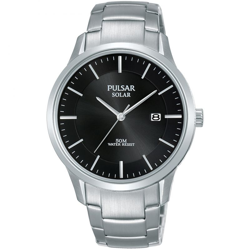 Unisex Pulsar Solar Powered Watch