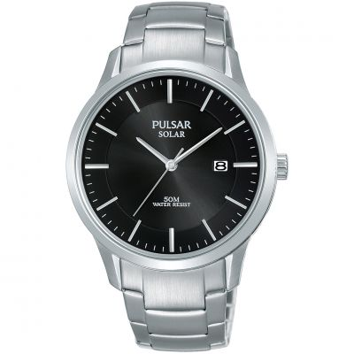 Unisex Pulsar Solar Powered Watch PX3161X1
