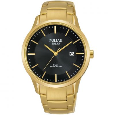 Unisex Pulsar Solar Powered Watch PX3162X1