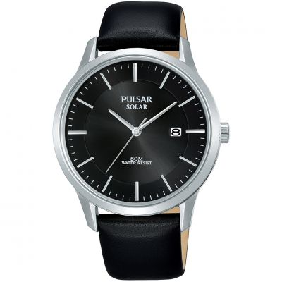 Unisex Pulsar Solar Powered Watch PX3163X1