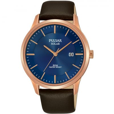 Unisex Pulsar Solar Powered Watch PX3164X1