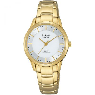 Ladies Pulsar Solar Powered Watch PY5042X1