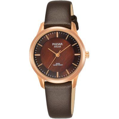 b9a6f93ce86 Ladies Pulsar Solar Powered Watch PY5044X1