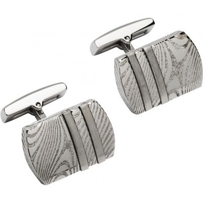 Herren Unique & Co Cufflinks Edelstahl QC-230