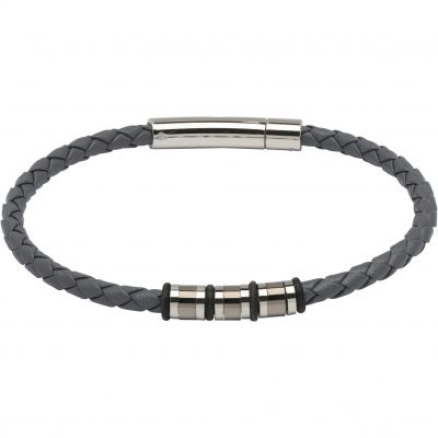Mens Unique & Co Stainless Steel Bracelet B404GR/21CM