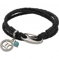 Ladies Unique & Co Stainless Steel Zodiac Gemini Bracelet B418BL/19CM