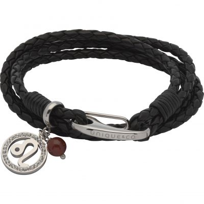 Ladies Unique & Co Stainless Steel Zodiac Leo Bracelet B420BL/19CM