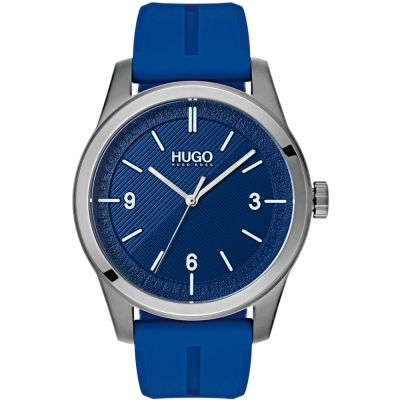 HUGO #CREATE #Create Herrenuhr in Blau 1530013