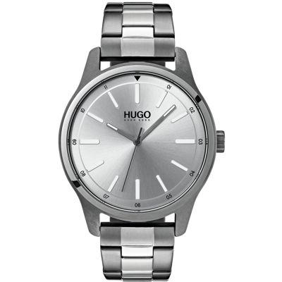 HUGO #DARE #Dare Herrenuhr in Grau 1530021