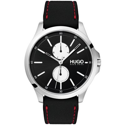 HUGO #JUMP #Jump Herrenuhr in Schwarz 1530001