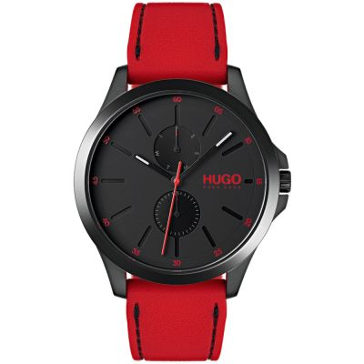 HUGO #JUMP #Jump Herrenuhr in Rot 1530003