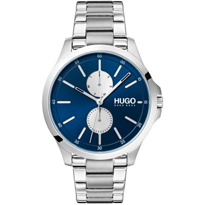 HUGO #JUMP #Jump Herrenuhr in Silber 1530004