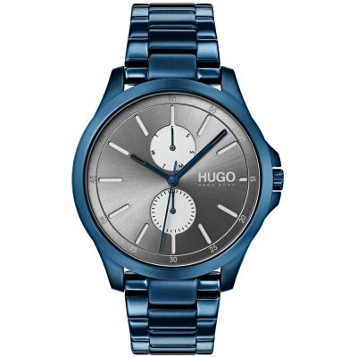 HUGO #JUMP #Jump Herrenuhr in Blau 1530006