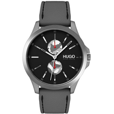 HUGO #JUMP #Jump Herrenuhr in Grau 1530047