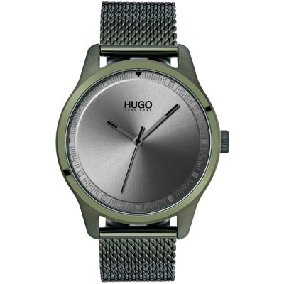 HUGO #MOVE #Move Herrenuhr in Grün 1530046