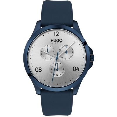 HUGO #RISK #Risk Herrenuhr in Blau 1530037