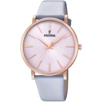 Festina Ladies Rose Gold-Plated Watch