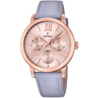 Festina Ladies Multif. Rose Gold-Pltd.Watch