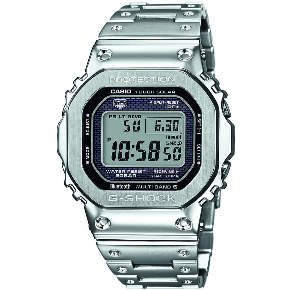 f6a134660 Mens Casio G-Shock Full Metal Limited Edition Bluetooth Tough Solar Watch  GMW-B5000D-1ER