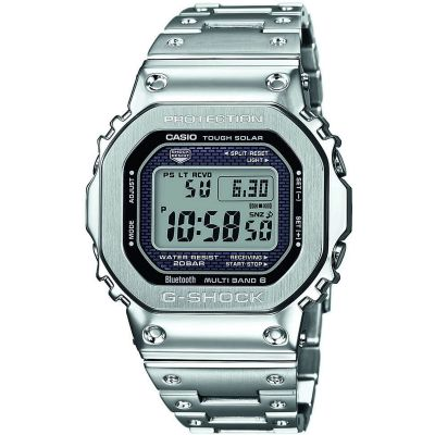 Casio G-Shock Full Metal Bluetooth Limited Edition Herrklocka Silver GMW-B5000D-1ER