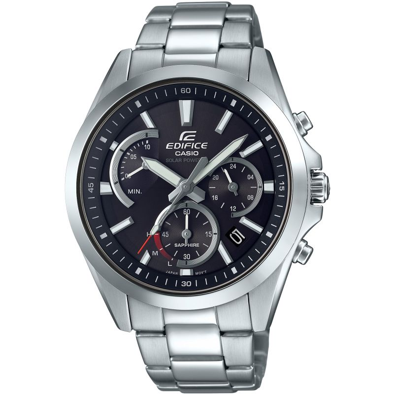 Casio Edifice Sapphire Solar Retrograde Watch EFS-S530D-1AVUEF for £159