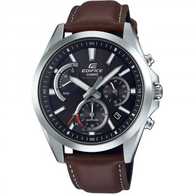 Casio Edifice Sapphire Solar Retrograde Watch EFS-S530L-5AVUEF