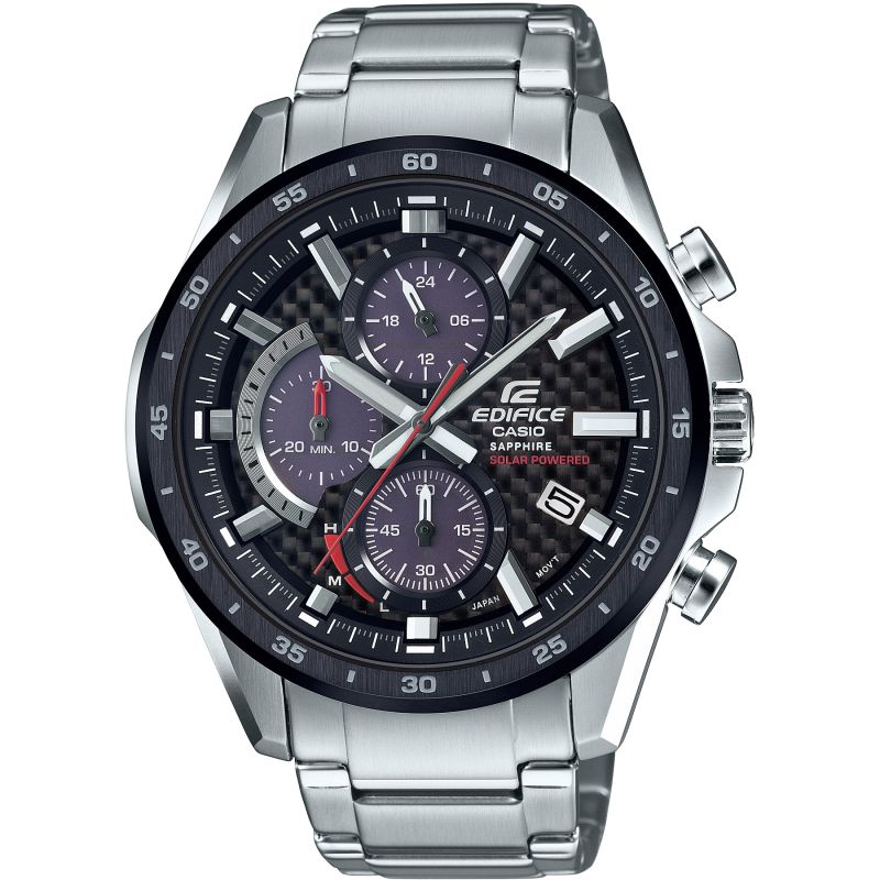 Casio Edifice Sapphire Solar Retrograde Watch EFS-S540DB-1AUEF