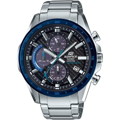 Casio Edifice Sapphire Solar Retrograde Watch EFS-S540DB-1BUEF