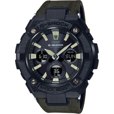 Montre Chronographe Homme Casio G-Shock G-Steel Military Street GST-W130BC-1A3ER