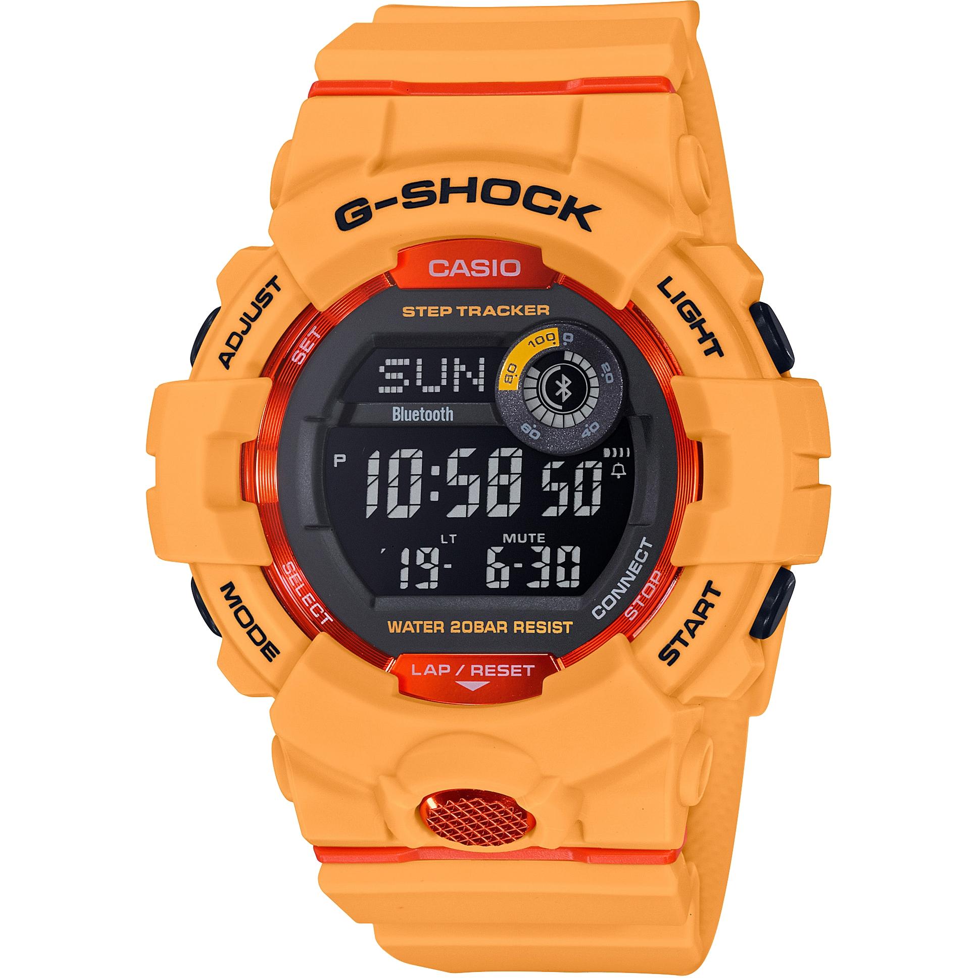 0829fd25d Casio G-Shock G-Squad Bluetooth Step Tracker Watch (GBD-800-4ER) |  WatchShop.com™