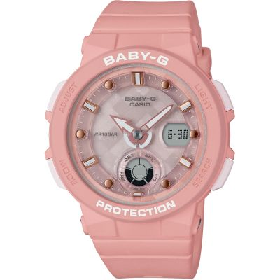 Montre Chronographe Femme Casio Baby-G Beach Traveller Series BGA-250-4AER
