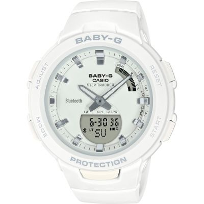 Casio G-Squad Bluetooth Step Tracker Watch BSA-B100-7AER