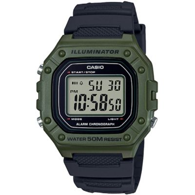 Casio Heavy Duty horloge W-218H-3AVEF