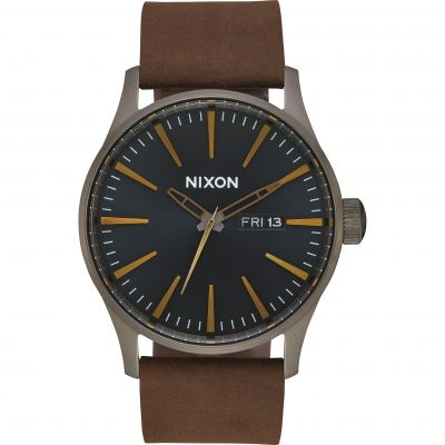 Montre Homme Nixon The Sentry Leather A105-2984