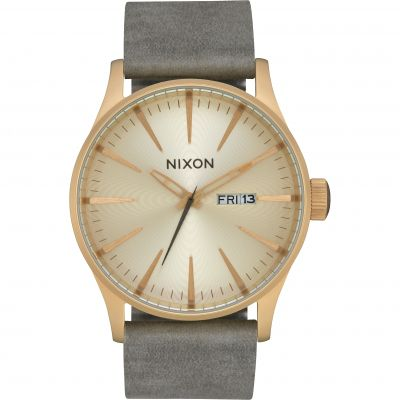Montre Homme Nixon The Sentry Leather A105-2982