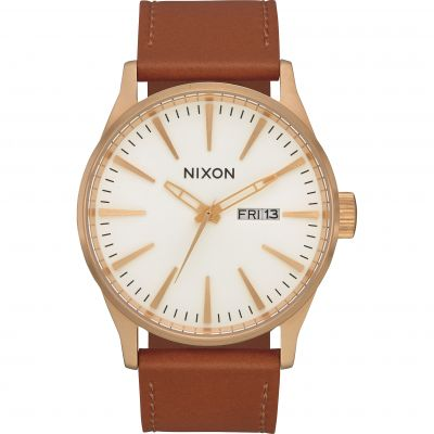 Montre Homme Nixon The Sentry Leather A105-2621