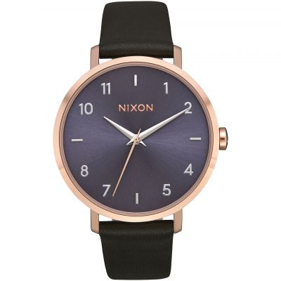 Nixon The Arrow Leather Damenuhr A1091-3005