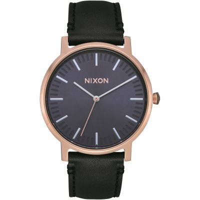 Nixon The Porter Leather Damklocka A1058-3005