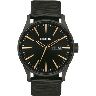 Montre Homme Nixon The Sentry Leather A105-2987