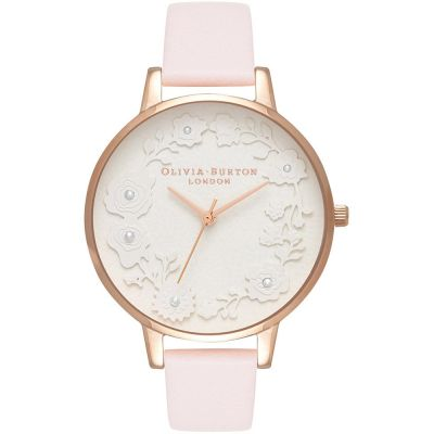 Glasshouse Rose Gold & Blossom Watch