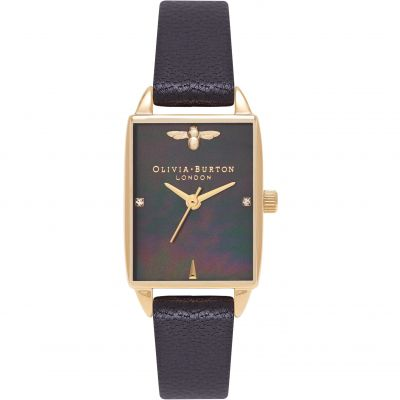 Bee Hive Black Mother-Of-Pearl Gold & Black Watch