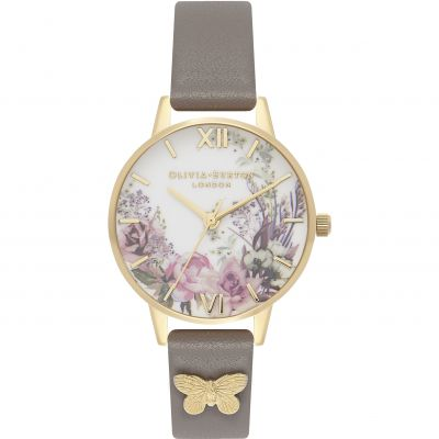 Enchanted Garden Gold & London Grey Watch