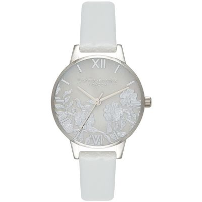 Montre Femme Olivia Burton Illustrated Animals Silver & Grey OB16MV93