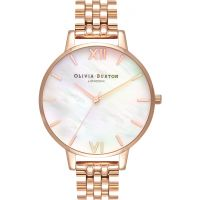 Olivia Burton Mother of Pearl Bracelet Watch OB16MOP03