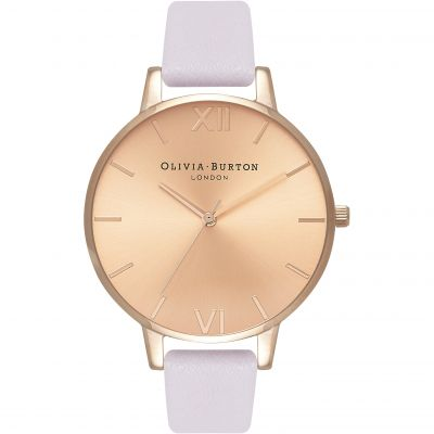 Sunray Dial Rose Gold & Blossom Watch