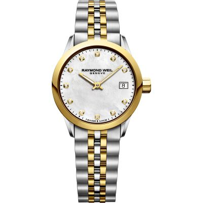 Montre Raymond Weil Freelancer 26mm Diamonds 5626-STP-97081