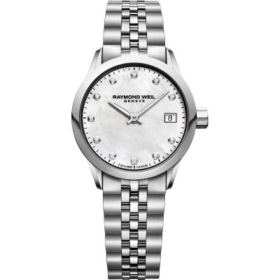 Zegarek damski Raymond Weil Freelancer 26mm Diamonds 5626-ST-97081