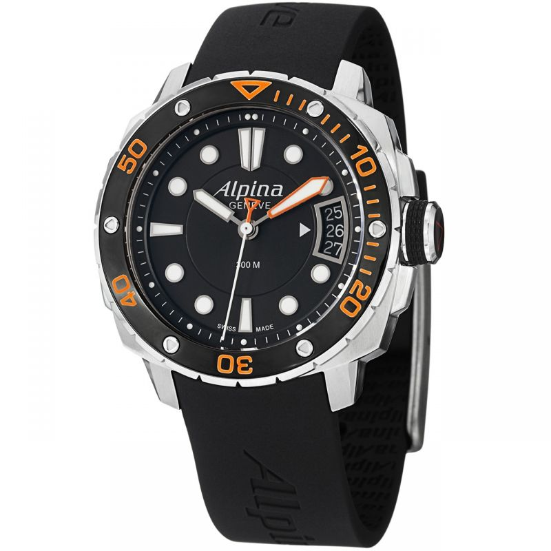 Ladies Alpina Seastrong Diver Watch