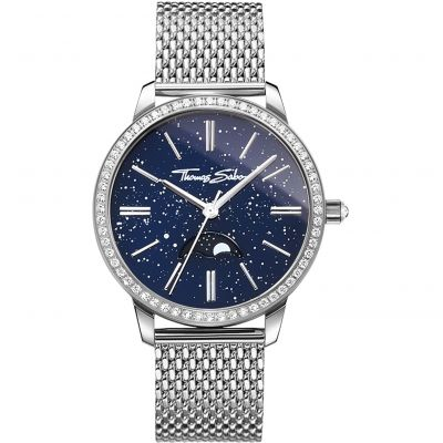 Moonphase Movement Blue Women's Watch