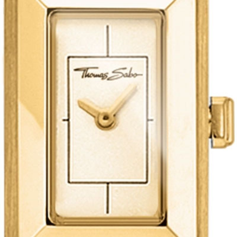 Image of  			   			  			   			  Glam & Soul Mini Vintage Gold Watch